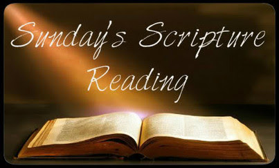 Sunday's Scripture Reading