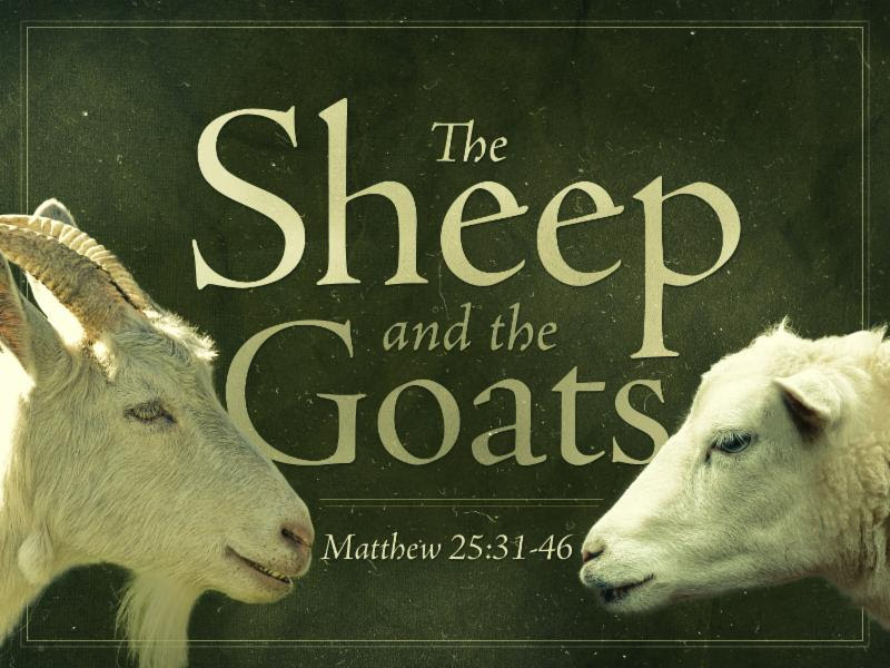 The Sheep and the Goats