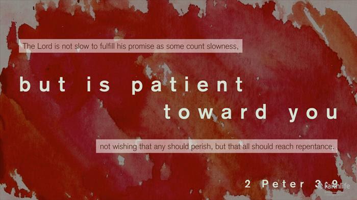 2 Peter; Patient
