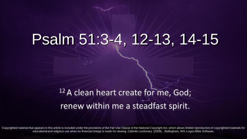 Psalm 51:3-4