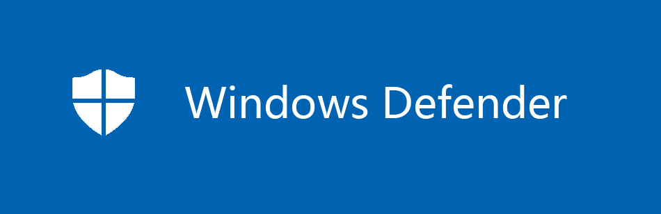 Windows Defender Logo Blue