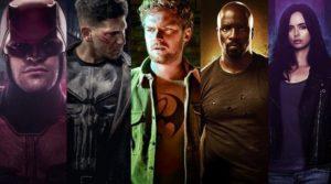 Netflix Marvel Shows in Order